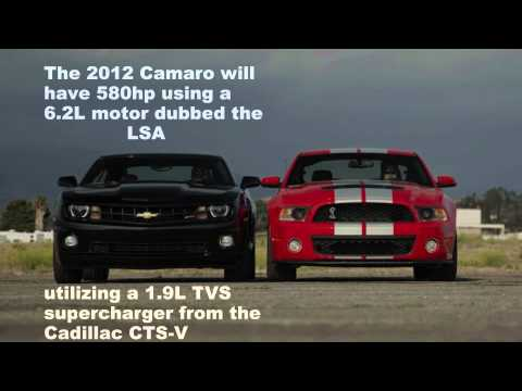 Road test and drag race, 2013 Ford Mustang GT500 vs 2012 Camaro ZL1