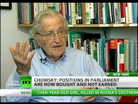 Noam Chomsky to RT: Bush torturer, Obama just kills