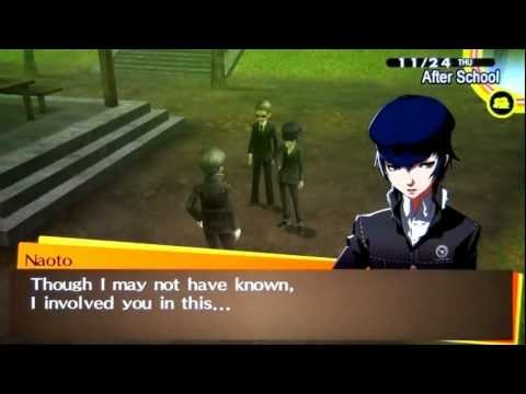 Persona 4 Golden - Naoto Social Link MAX *Lovers Path* (Voiced)