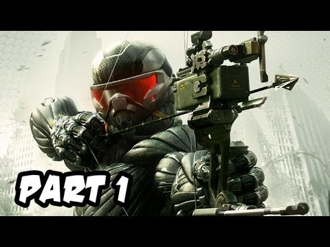 Crysis 3 Gameplay Walkthrough - Part 1 - Mission 1: Post Human (Xbox 360/PS3/PC HD)
