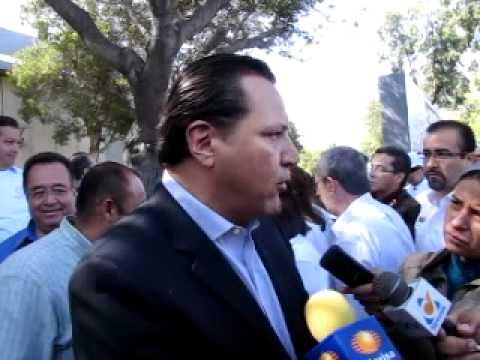 EDUARDO LEDESMA DIP DEL VERDE ECOLOGISTA A FAVOR DE PROYECTO QUE TALA ARBOLES EN TIJUANA
