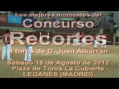 "ESPECTACULARES ""RECORTES TAURINOS"" EN LEGANÉS"