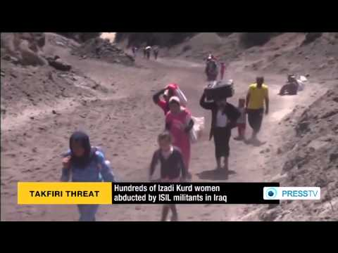 Abducted Izadi Kurd women sold to (ISIS) members in Syria  8/31/14