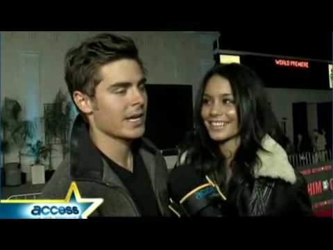 Zac Efron &amp; Vanessa Hudgens Interview at Get Him To The Greek  premiere Access Hollywood