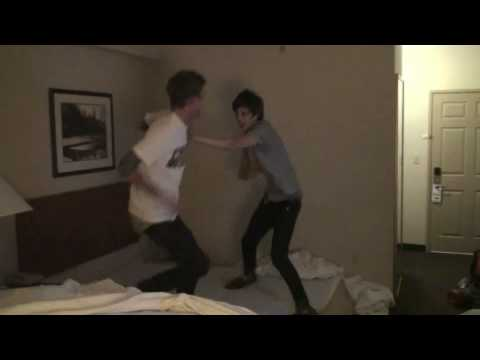 A Rocket To The Moon: Hotel Room Wrestling