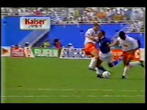 Copa 1994 - Brasil X Holanda - Gol do Branco