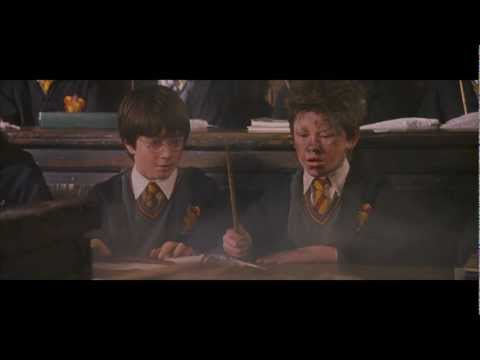 Harry Potter Wingardium Leviosa HD scene