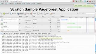 Application Manifest - Offline Pageforest Web App