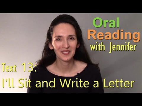 Oral Reading Fluency 13 -