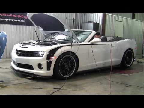 HPE700 LS9 Camaro Convertible Chassis Dyno Test