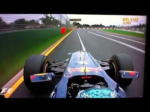 Sebastian Vettel Pole Position Melbourne 2011