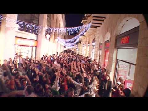 Jerusalem Flash Mob - Taglit Birthright-Israel: Mayanot