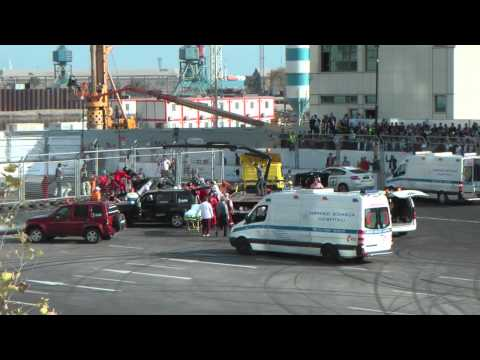 Baku City Challenge CRASH of F1 Classic