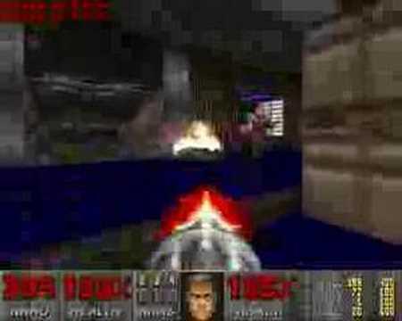 Doom 1 e1m1 e1m2