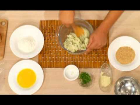 Croquette de pomme de terre au rôti de boeuf