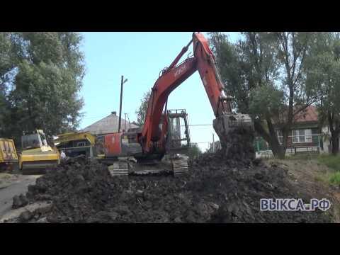 В деревне Грязная идут работы по восстановлению плотины