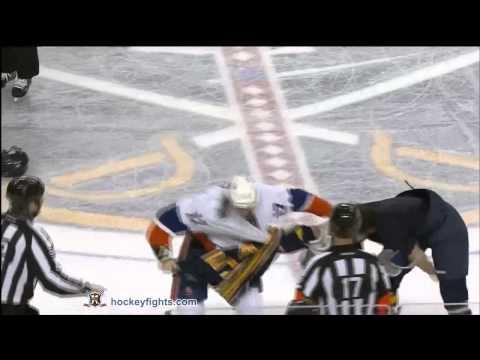 Matt Martin vs Zack Kassian Nov 29, 2011