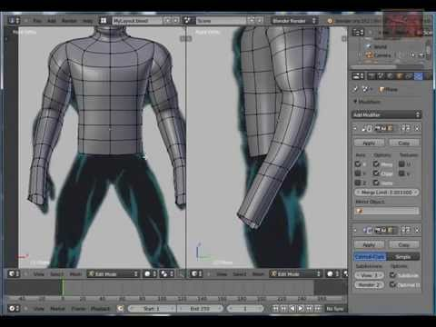 Blender Tutorial Character Modeling (4)
