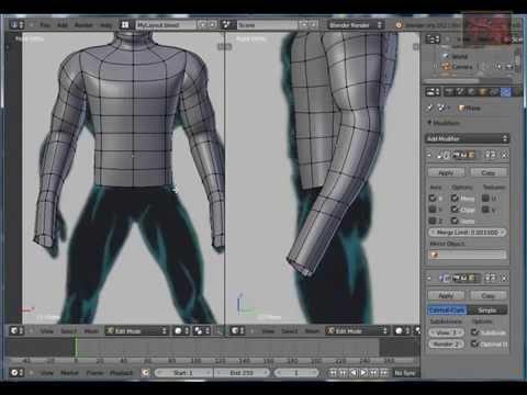 Blender Tutorial Character Modeling (4)