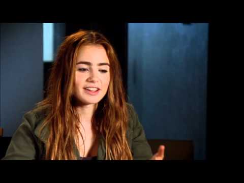 Lily Collins 'Abduction' Interview