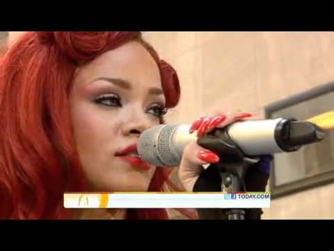 "Rihanna performs California King Bed LIVE! on Today Show ""Toyota Concert"" 2011"