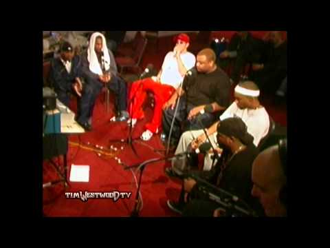 Westwood - Eminem &amp; D-12 freestyle backstage in London 2001