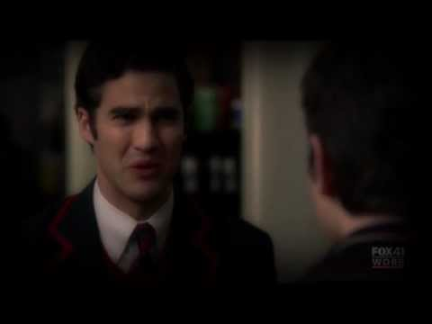 Blaine Anderson- I'm sorry I can't be perfect