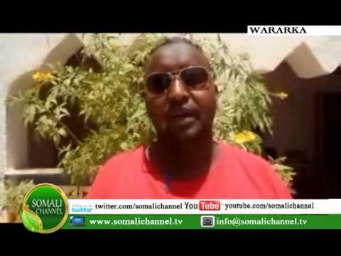 WARKA SOMALI CHANNEL taageerayo madaxweynaha cusub Qardho 17 09 2012