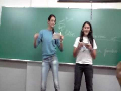 Thana, Jeje e Malu no ciclo do nitrogênio Terceiro A marista 2009