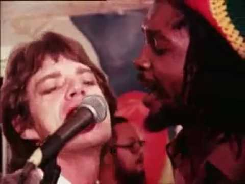 "Peter Tosh Mick Jagger ""Don't look back"""
