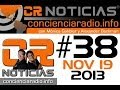 CR NOTICIAS EPISODIO 038 NOV 19 2013