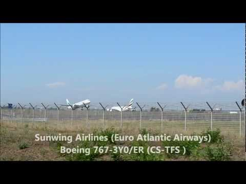 Plane Spotting - Landings and take-offs at LIRF (Roma Fiumicino Leonardo da Vinci)