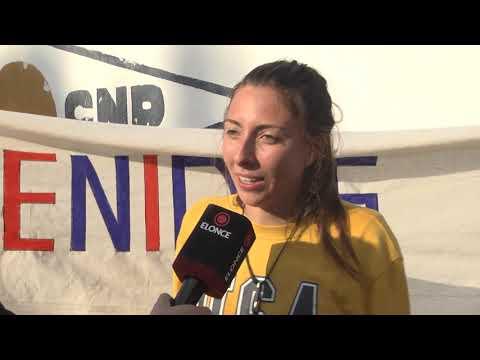 Llegaron los jóvenes que compitieron en el Mundial de Canotaje en China