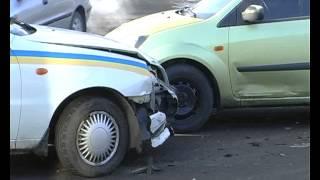 Авария с участием правоохранителей в Житомире