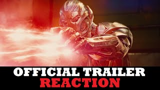 Avengers: Age of Ultron (2015) - Official Trailer #2 (REACTION)