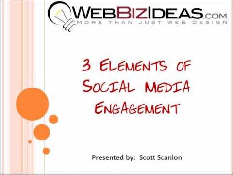 Social Media Strategy - 3 Main Principals