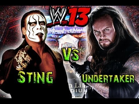 Sting Vs The Undertaker - WWE '13
