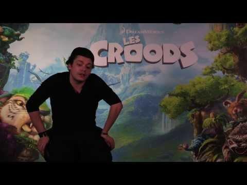 The Croods - Making of des voix françaises (Kev Adams) poster