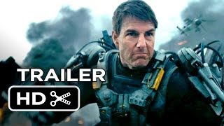 Edge Of Tomorrow Official Trailer (2014) - Tom Cruise, Emily Blunt Movie HD