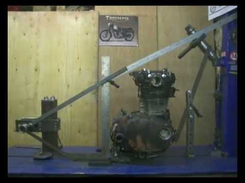 Building A Yamaha XS650 Custom Chopper Bobber Hardtail Frame - Part 1 of 2