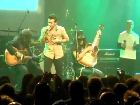 Atif Aslam Performs - Wish You Were Here - With Guns N' Roses In New York