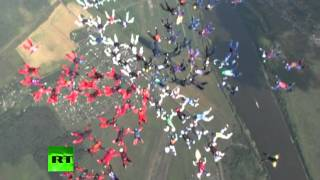 Amazing 88 Women Formation Skydiving