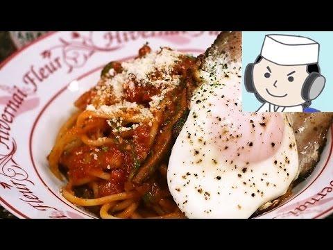 ナポリタンスパゲッティ♪ Spaghetti Napolitan♪ ~With bacon egg~