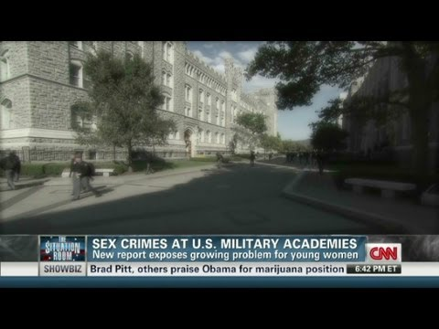 Sex crimes at military academies 12/19/2012