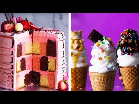 The BEST Cake Recipes to Bake for a Birthday Party  | Amazing Cake Decoration Ideas by So Yummy