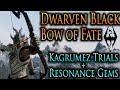 Skyrim Dragonborn - Dwarven Black Bow of Fate [The Kagrumez Trials]