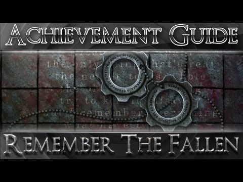 Gears of War 3: All CoG Tags/ Remember The Fallen Achievement Guide