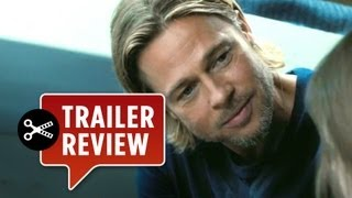 Instant Trailer Review - World War Z (2013) - Brad Pitt Movie HD