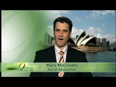 Mark McCrindle discusses, 'Generation Z', on 9am with David & Kim