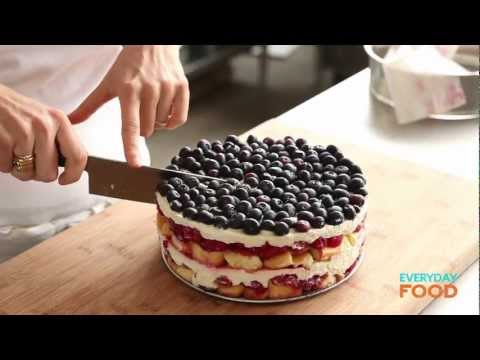 Red, White, and Blue Berry Trifle   Everyday Food with Sarah Carey